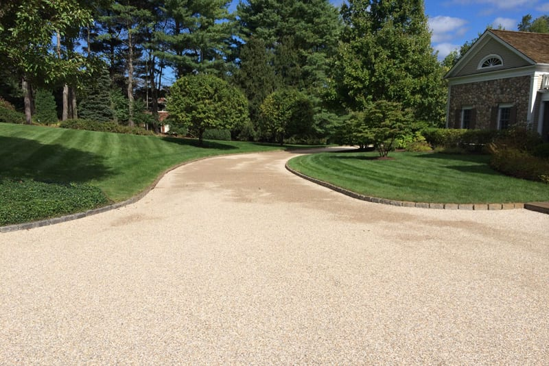 Oil & Stone Driveway