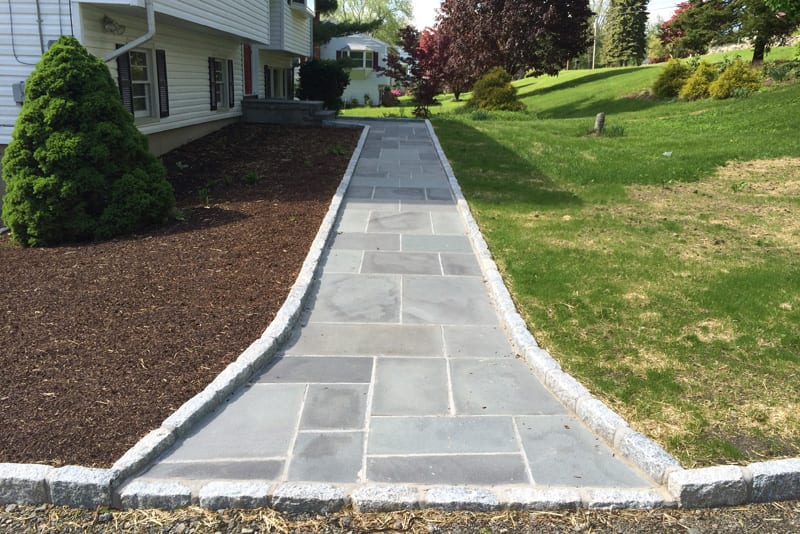 masonry stone walkway