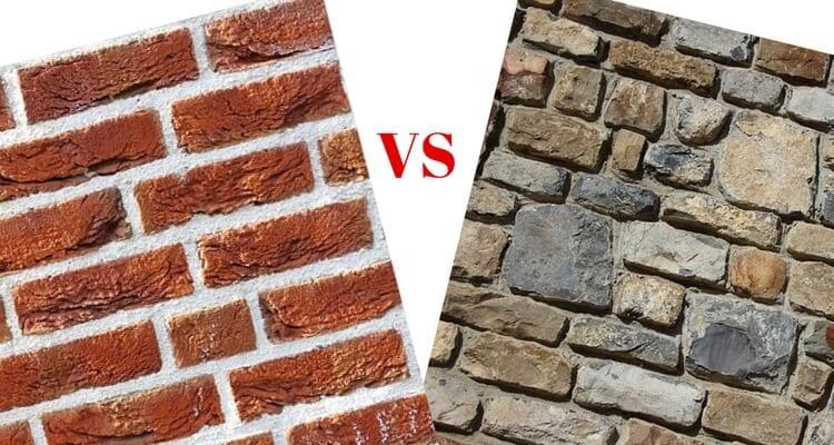Brick vs stone
